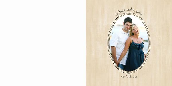 Andrew&Lauren-Guest Book