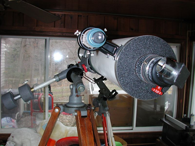 """The """"Observers end"""" of the telescope."""