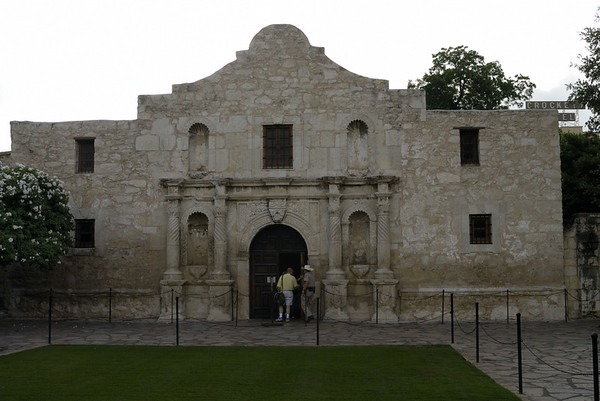 The Alamo Grounds and Menger Hotel