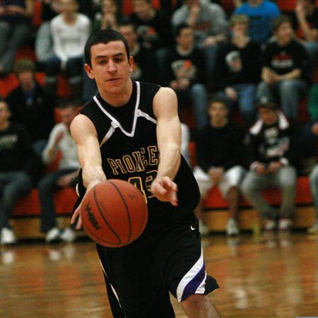 Pioneer at Tecumseh basketball 2009