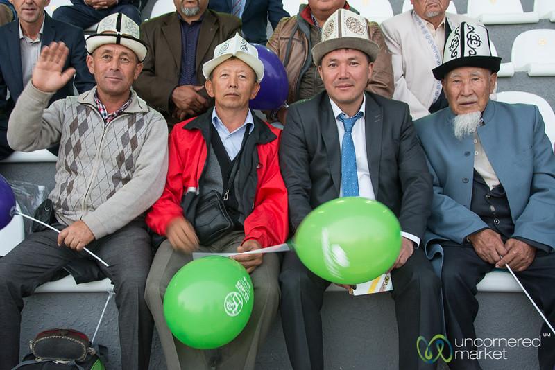 Kalpaks Represented at the World Nomad Games 2016 - Kyrgyzstan