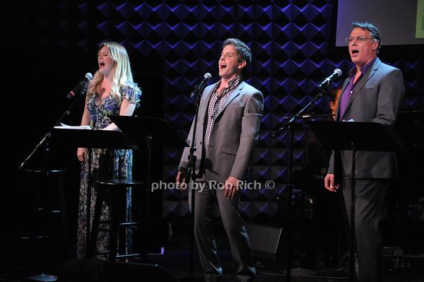 Kathleen Montelone, Howie Michael Smith, Robert Cucciolo photo by Rob Rich © 2014 robwayne1@aol.com 516-676-3939