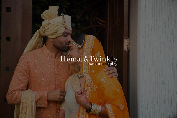 Hemal and Twinkle | Ahmedabad 2016