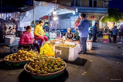 Marché de nuit de Hanoï