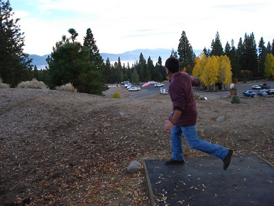 Disc Golf - North Tahoe Regional Park 11-04-2010