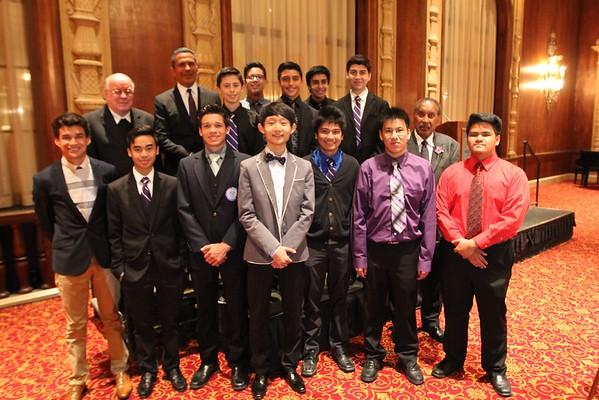 MHR Scholarship Dinner 2015