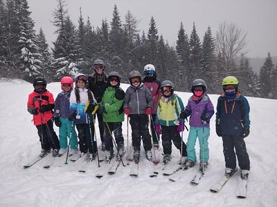 LS 4th-5th Skiing at Chewelah Peak 2-21-19