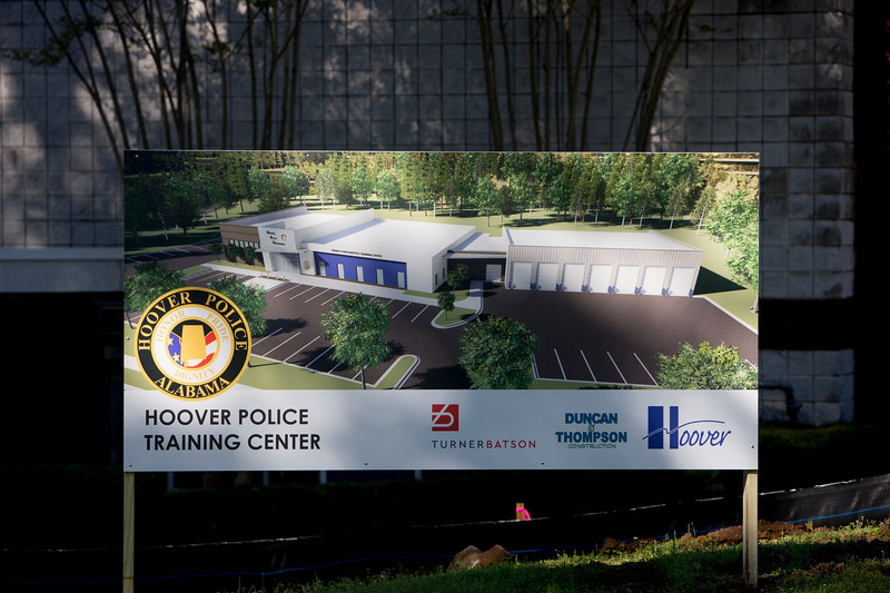 Hoover Police Training Facility Groundbreaking 2019
