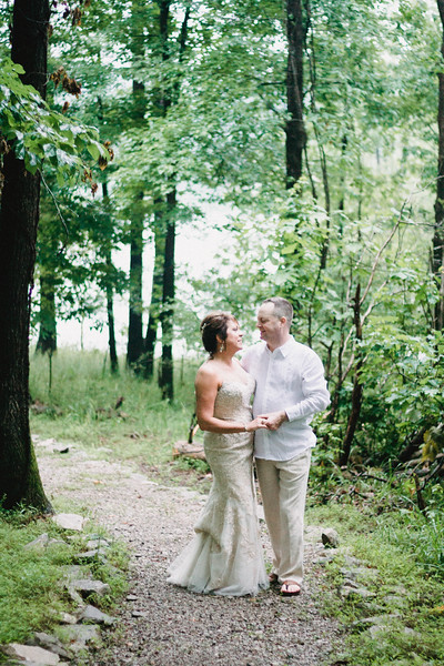 Allison & Mike. Married