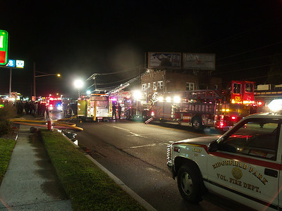 09-25-09 Little Ferry, NJ - Working Fire