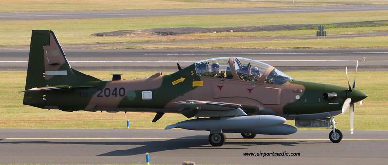 19-2040 A29 EMB314 Super Tucano Nigerian AF