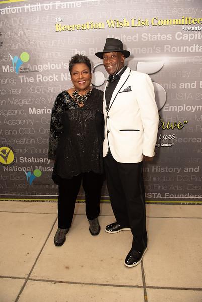 Cora Masters-Barry, Rodney Jordan. Photo by Yasmin Holman. RWLC 25th Anniversary. Washington, D.C. 11.02.2019