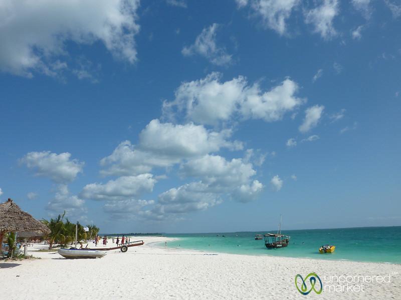 White Sands and Blue Waters of Kendwa - Zanzibar, Tanzania