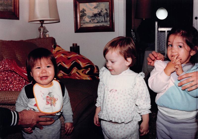 Josh, Elizabeth, Alaya 1985