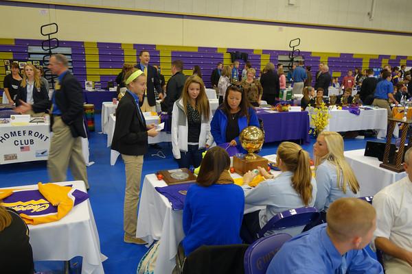 2013 var - Open House, Freshman Service