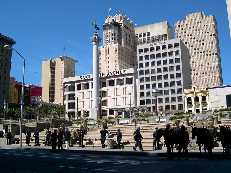 San Francisco - March 2003 Union Square