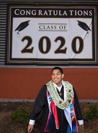 2020 Vicente Boyd High School Grad Photo