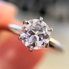 .61ct Old European Cut Diamond Vintage Solitaire, by Tiffany & Co  GIA F VS2 5
