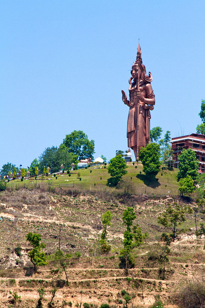 One of the largest Shiva statues in the world.