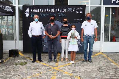 Reparto de premios · Regata Mar de Maeloc Rías Altas
