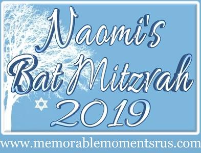 Naomi's Bat Mitzvah