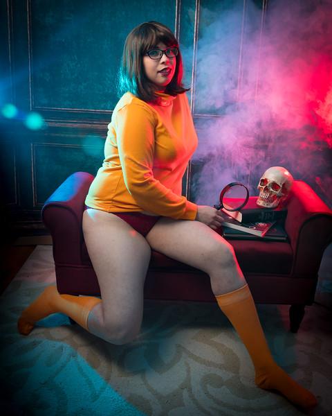 Velma and Milk Bath
