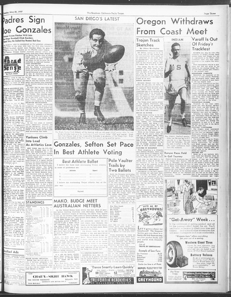 Daily Trojan, Vol. 28, No. 143, May 25, 1937
