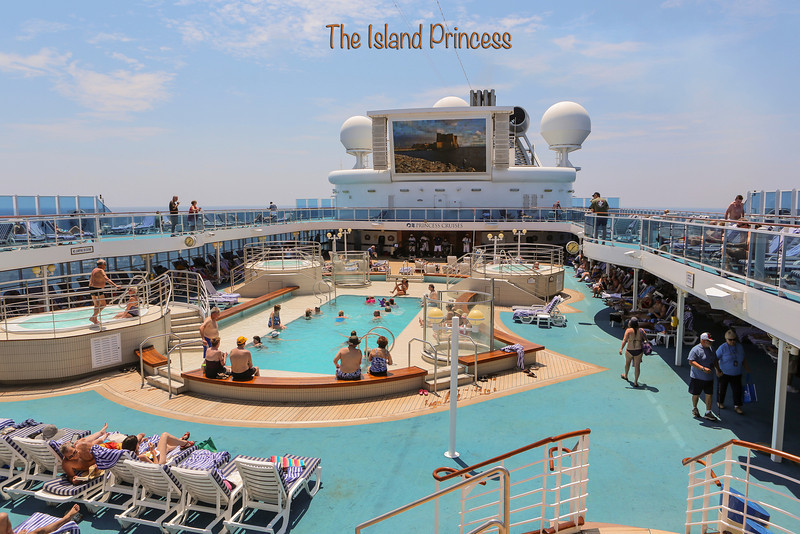 On the Princess Island Cruise Ship