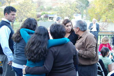 Thanksgiving family party in Morgan Hill: 11/08