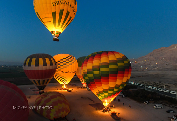 02-07-20 Egypt Day6 Balloon Sunrise | Valley of Kings