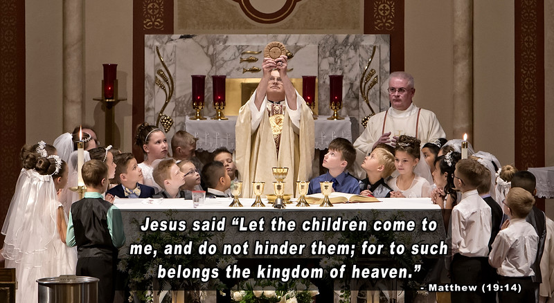 St. Bonaventure First Communion 2016