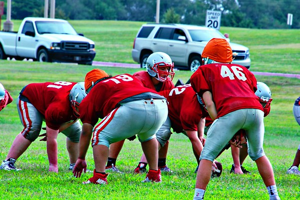 WHS Saturday Football Scrimmage  082419
