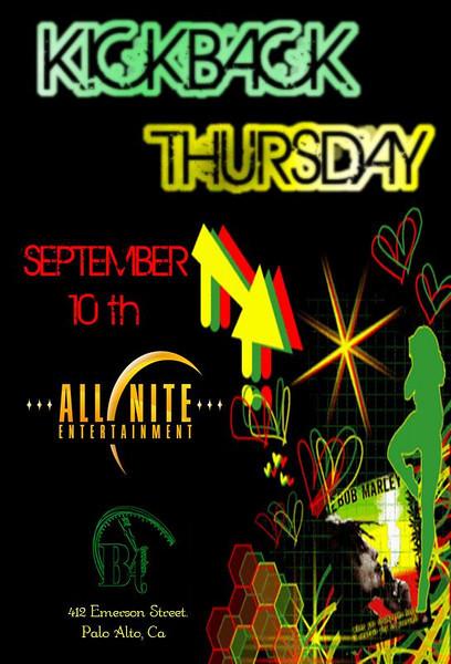 Kick Back Thursday @ B412-Palo Alto 9.10.09
