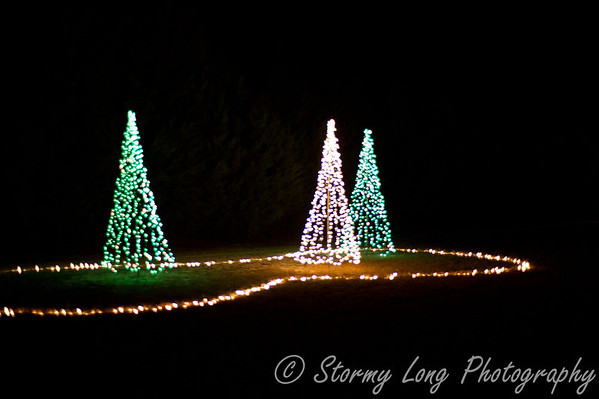 Mike's Farm Light Show - 2011