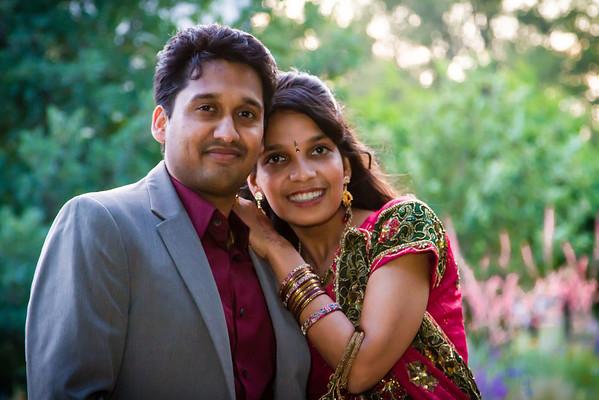 Kirhsna-Nidhi Wedding Reception