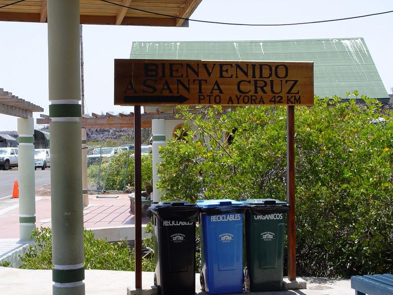 recycling on santa cruz