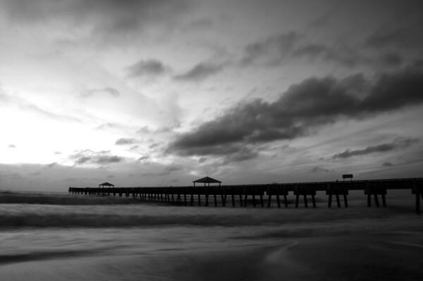 Juno Beach Pier Irene