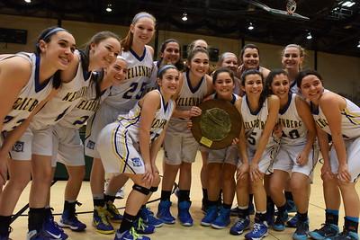 Girls Varsity Basketball League Championship - 2015