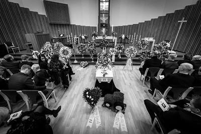 Tobias Tesdal begravelse