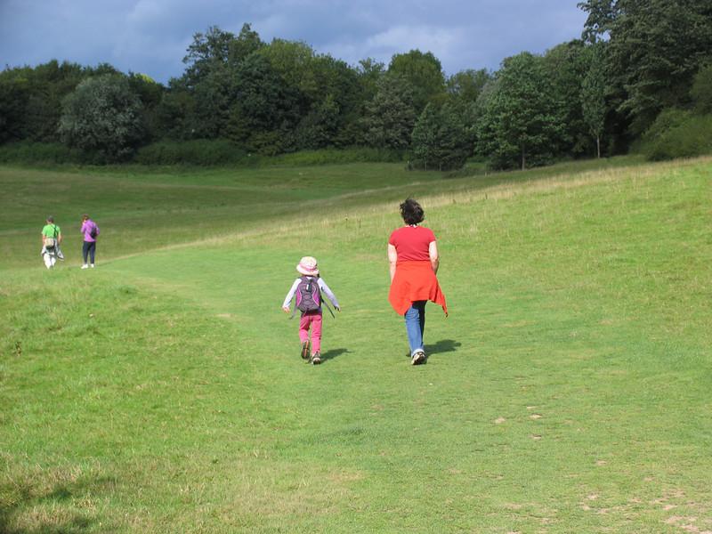 Sam and Sarah run ahead to make their treacherous Norman plans