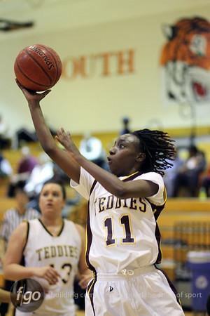 Roosevelt v South Girls Basketball 1-10-11