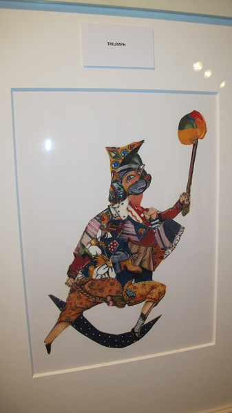 Meet and Greet, artist Vicky Dash, Community Arts Center, Tamaqua (3-27-2014)
