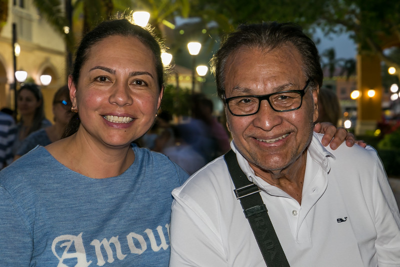 Monica Morales and Dr. Osmin Morales MD