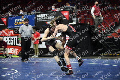 3A State Wrestling: Consolations Semi-Finals