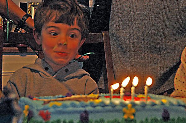 Zeke's 4th Birthday