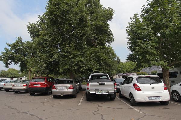 Players, media, VIP parking