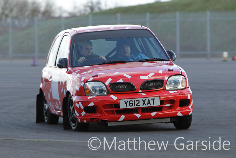 Red White Strips Micra