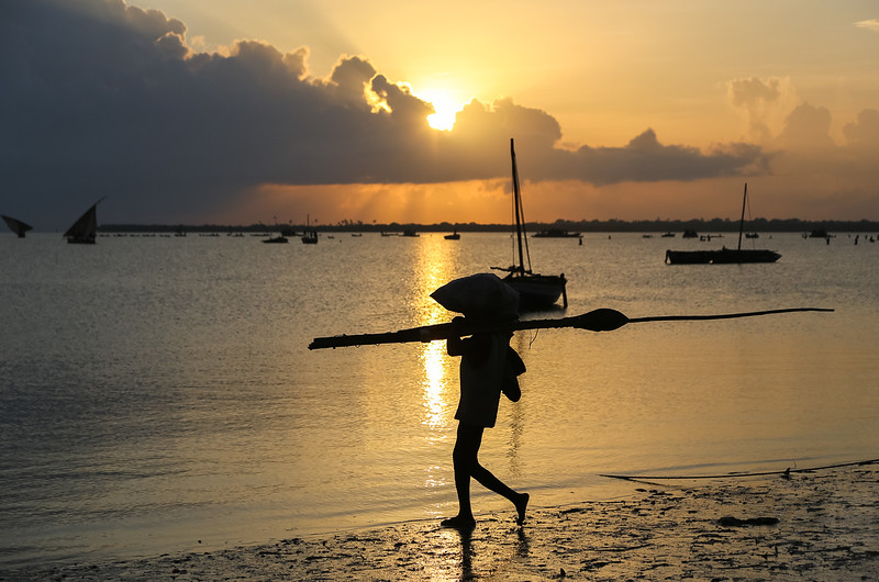 Starting the day at Mocimboa da Praia - Mozambique