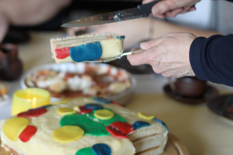 Bettina's birthday cake