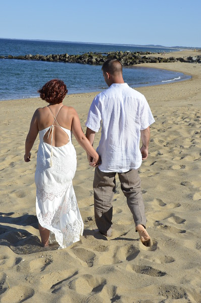 secret wedding beach walk